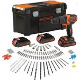 APARAFUSADORA SEM FIO BLACK & DECKER KIT